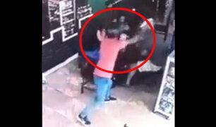 Loreto: video capta a sicario disparando en la cabeza a un policía