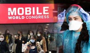 Organizadores cancelan congreso tecnológico de Barcelona por la crisis del coronavirus