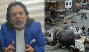 """César Gutiérrez sobre reorganización de Osinergmin: """"Se está pensado políticamente"""""""