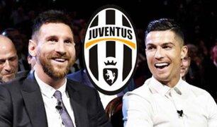 La Juventus quiere a Lionel Messi y Cristiano Ronaldo jugando juntos
