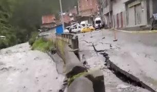 Puno: aumento de caudal del río Chichanaco afectó vías cercanas
