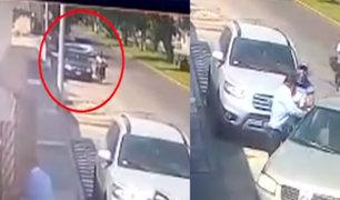 San Miguel: cámara de seguridad registró cómo opera violenta banda criminal