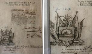 Otro documento de José de San Martín fue robado del Archivo General de la Nación
