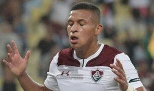 Los dos goles que le anularon a Fernando Pacheco en el clásico de Fluminense y Flamengo