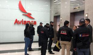 Avianca: allanan sede de aerolínea en Bogotá por investigación sobre sobornos