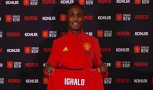 ¡Alerta por coronavirus! Manchester United aparta de entrenamientos a Odion Ihgalo