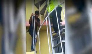 Surco: ladrón arriesga su vida para evitar su captura