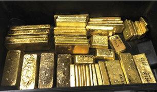Callao: decomisan más de 100 kilos de oro procedente de la minería ilegal