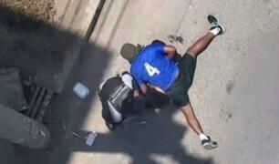 Los Olivos: dueño de taxi evitó robo de autopartes