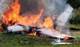 Tragedia en Colombia: avioneta se estrelló poco después de despegar