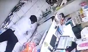 Pucallpa: violento asalto se registró en una botica
