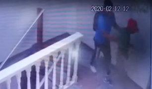 Huacho: delincuentes usan como escudo humano a niño para asaltar tienda