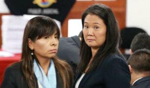 Defensa de Keiko Fujimori denunció que MP presentó nulidad contra apelación de prisión preventiva