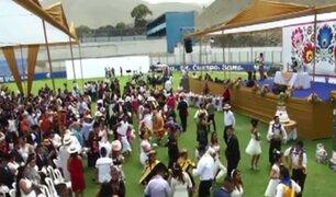 Ventanilla: 400 parejas contrajeron nupcias en matrimonio masivo costumbrista