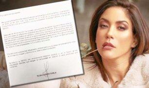 """Tilsa Lozano pide disculpas por promocionar pastillas """"para bajar de peso"""""""