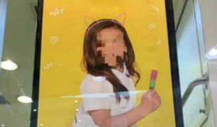 [FOTOS] Escándalo en Chile: acusan a marca de sexualizar niñas en su campaña escolar