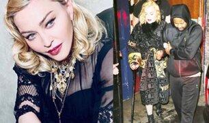 Madonna abandona su último recital ayudada por un bastón