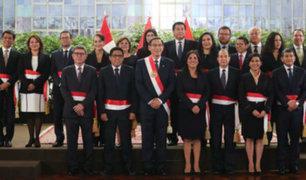 Juramentación de nuevo Gabinete Ministerial será esta noche en Palacio de Gobierno