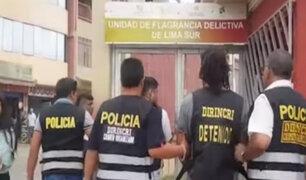 "Caen ""Los perversos de Chorrillos"": sujetos se dedicaban a asaltar a pasajeros de buses"