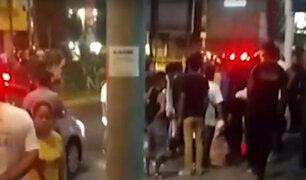 SMP: ciudadanos colombianos y ecuatorianos se ensartaron en brutal pelea