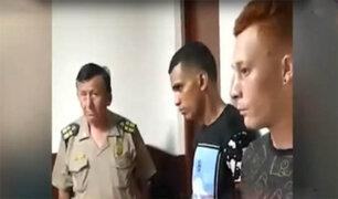 Bellavista: capturan extranjeros que asaltaron a discapacitado