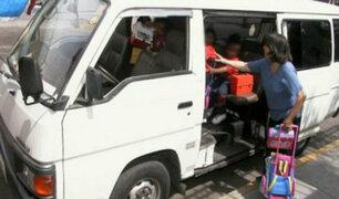 Según ATU: estas son las medidas de seguridad para movilidades escolares