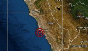 Sismo de magnitud 4.7 se registró esta mañana en el Callao