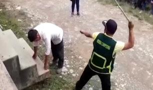 Cajamarca: ronderos castigan a juez de paz por no atender a mujer