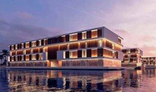 Construirán innovadores hoteles flotantes para el Mundial de Qatar 2022