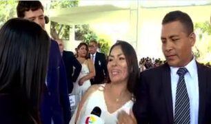 San Valentín: más de 100 parejas se dieron el sí en el primer matrimonio comunitario del año