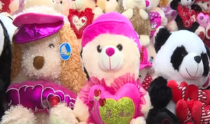 San Valentín: osos de peluche gigantes fueron los más vendidos en la romántica fecha