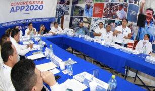 "Bancada de APP pide adelantar la juramentación de congresistas para ""equilibrar poderes"""