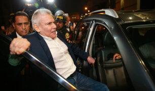 Exalcalde de Lima pasó su primera noche en el penal Miguel Castro Castro