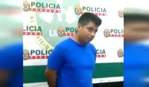 """Ladrón de autopartes es grabado por serenos: """"Tengo derecho a mi privacidad, papi"""""""