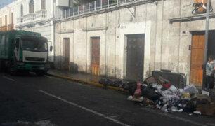 Arequipa: celebración por San Valentín dejó 85 toneladas de basura en el centro histórico