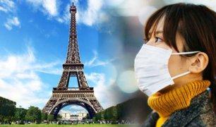 Coronavirus: confirman el primer muerto en Francia por epidemia