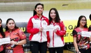 Bowling peruano obtiene medallas de oro y plata en Qatar
