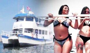 Salsa y Amor en el catamarán más grande del Callao