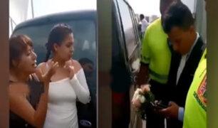 """Chorrillos: """"¡Ni una carrera tienes!"""", madre arma escándalo para impedir que su hijo de 18 años se case"""