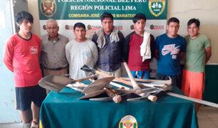 VMT: capturan sujetos que destruían 'Santuario de las vizcachas'