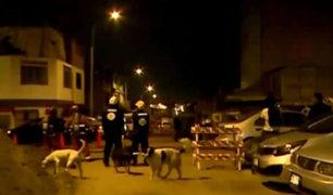 Fuga de gas generó pánico en vecinos de Chorrillos y Surco esta madrugada