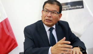 Jorge Montenegro: ministro de Agricultura dio positivo a prueba de COVID-19