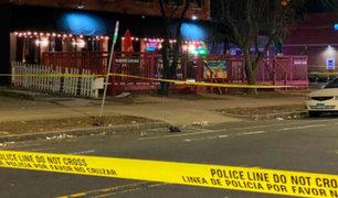 EEUU: un muerto y 4 heridos deja balacera en un bar de Connecticut