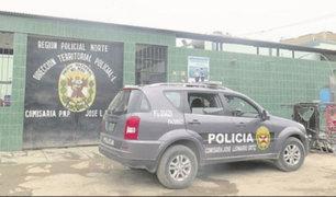 Chiclayo: mujer es detenida tras golpear a su esposo policía