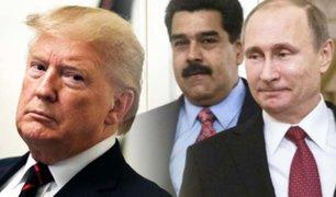 Donald Trump prepara sanciones contra Rusia para cortar apoyo a Maduro