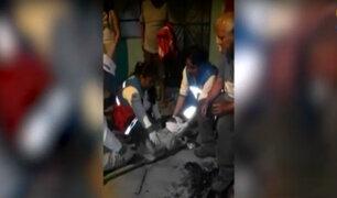 Chorrillos: motociclista casi muere decapitado por cables expuestos