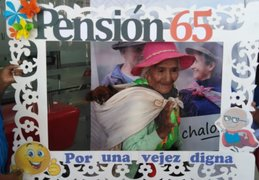 Más de 37 mil adultos mayores de todo el país cobraron subvenciones de Pensión 65
