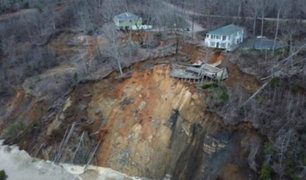 EE.UU: lluvias intensas azotan Mississippi y Tennessee