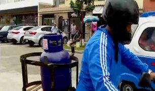 Magdalena propone ordenanza que prohíbe reparto de balones de gas en bicicletas y motos