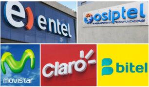 Osiptel multa a principales operadoras telefónicas con más de 4 millones de soles
